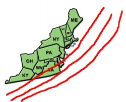 Storm Track Map